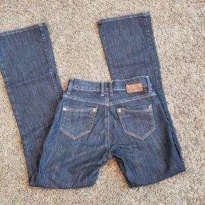 "Mavi ""Molly"" Jeans Classic Bootcut Dark Wash 25x32"